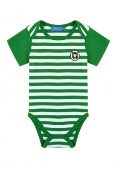 Baby Boy jersey bodysuit green