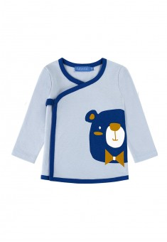 Baby Boy jersey kimono shirt light blue