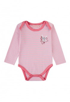 Baby Girl jersey bodysuit bright pink