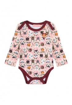 Baby Girl jersey bodysuit pink