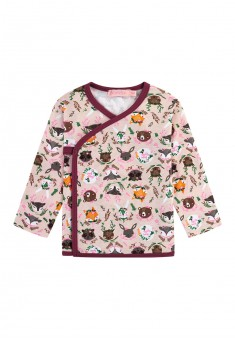 Baby Girl jersey kimono shirt pink