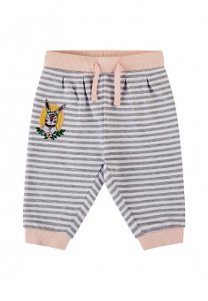 Baby Girl jersey trousers grey melange