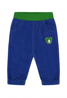 Baby Boy embroidered corduroy trousers dark blue