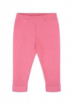 Baby Girl knit trousers bright pink