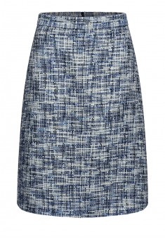 Womens boucle skirt multicolour