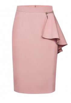 Removable peplum skirt dusty pink