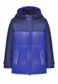 Boys insulated coat bright blue