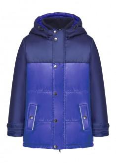 Утепленная куртка для мальчика цвет яркосиний