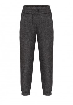 Boys tweed trousers dark grey melange