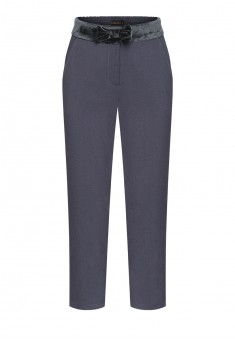 Girls bow trousers grey violet