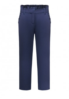 Girls trousers bright blue