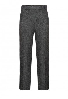 Mens tweed trousers grey melange