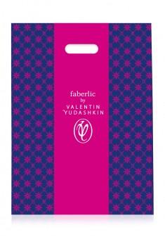 Полиэтиленовый пакет Faberlic by Valentin Yudashkin