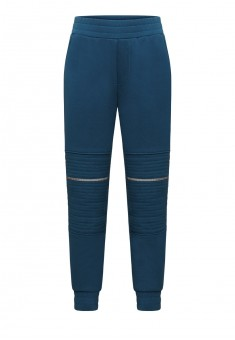 Boys warmup jersey trousers dark tourquoise