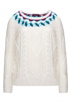 Girls knit jumper milk