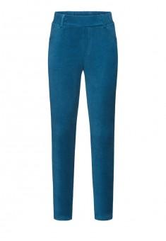 Узкие брюки для девочки цвет темнобирюзовый