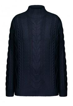 Вязаный джемпер для мужчины цвет темносиний