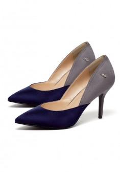 Туфли Gloss синесерые