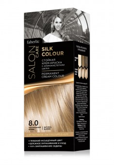 Silk Color Permanent Hair Color with silk amino acids