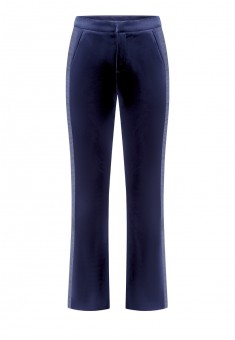 Piped Trousers dark blue
