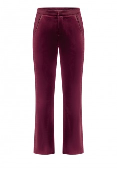 Piped trousers red