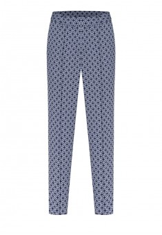 Shortened trousers grey blue
