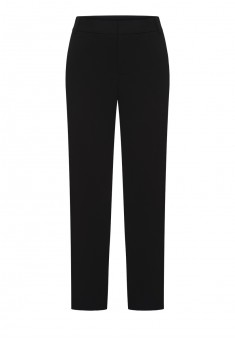157W3223 Saīsināta garuma bikses sievietei melnā krāsā