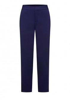 Укороченные брюки цвет темносиний