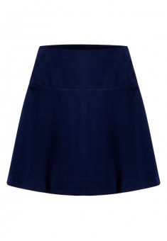 Short skirt dark blue