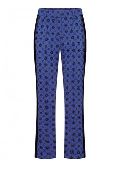 Piped trousers bright blue