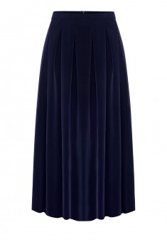 Longline skirt dark blue