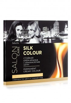 SILK COLOR Permanent cream color chart