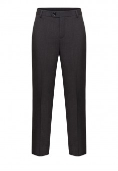 Mens Trousers grey melange