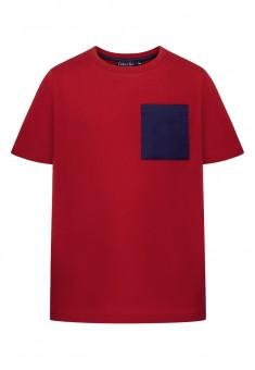 Футболка для мальчика цвет темнокрасный