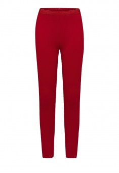 Girls Jersey Leggings dark red
