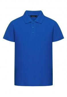Boys Polo Shirt bright blue