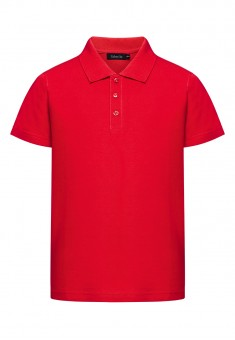 Boys Polo Shirt red