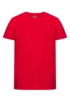 Трикотажная фуфайка с коротким рукавом для мальчика цвет красный