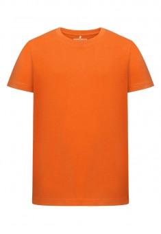 Трикотажная футболка для мальчика цвет оранжевый