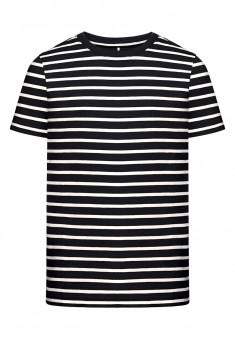 Трикотажная футболка для мальчика цвет черный