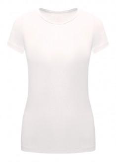 Трикотажная футболка цвет белый