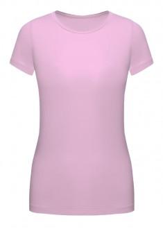 Трикотажная футболка цвет сиреневый