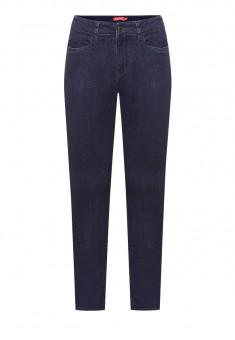 Узкие джинсы цвет темносиний