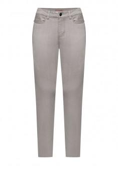 Узкие джинсы цвет серый