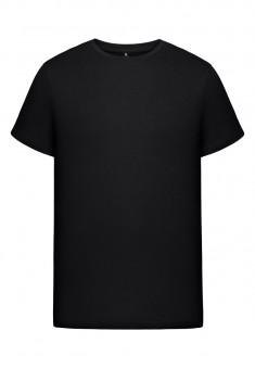 Трикотажная футболка для мужчины цвет черный