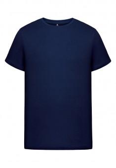 Трикотажная футболка для мужчины цвет темносиний