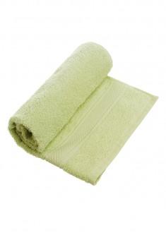 Полотенце для лица зеленое