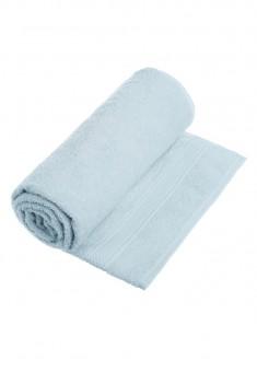 Полотенце банное голубое