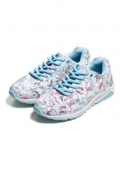 Кроссовки Lily голубые