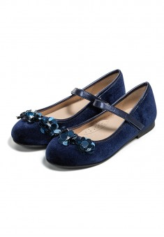 Vivat shoes for girl dark blue
